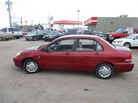 2004 Mitsubishi Lancer for sale at BUZZZ MOTORS in Moore OK
