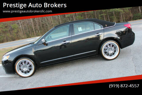 2011 Lincoln MKZ for sale at Prestige Auto Brokers in Raleigh NC