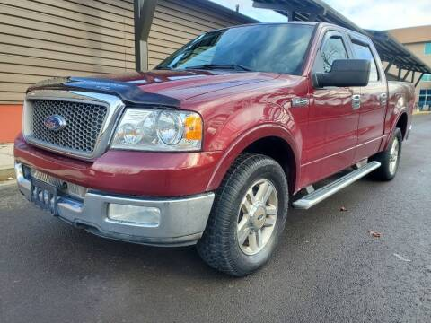 2005 Ford F-150 for sale at VIking Auto Sales LLC in Salem OR