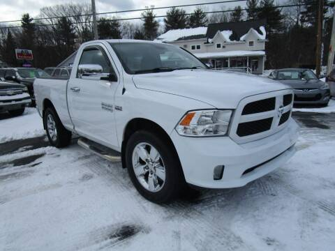 2015 RAM Ram Pickup 1500 for sale at Route 12 Auto Sales in Leominster MA
