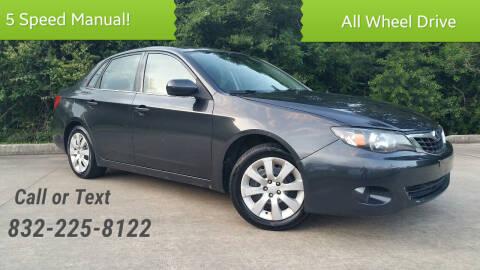 2009 Subaru Impreza for sale at Houston Auto Preowned in Houston TX