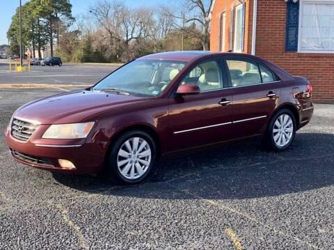 2009 Hyundai Sonata for sale at Carland Auto Sales INC. in Portsmouth VA