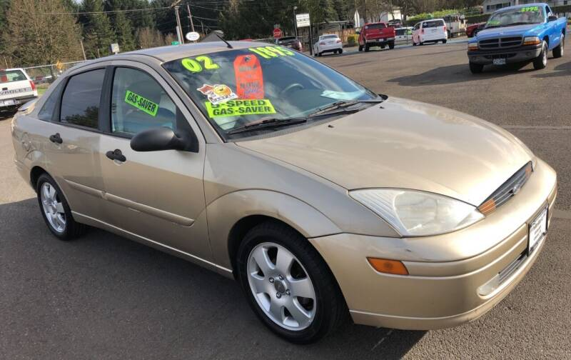 2002 Ford Focus for sale at Freeborn Motors in Lafayette, OR
