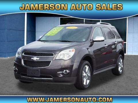 2013 Chevrolet Equinox for sale at Jamerson Auto Sales in Anderson IN