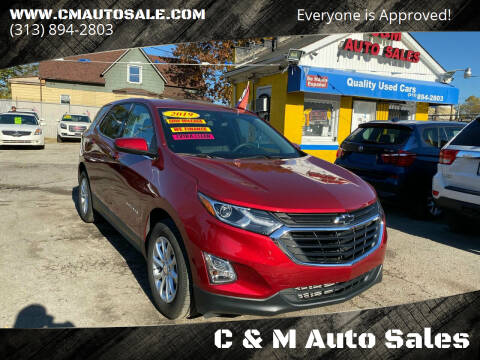 2019 Chevrolet Equinox for sale at C & M Auto Sales in Detroit MI
