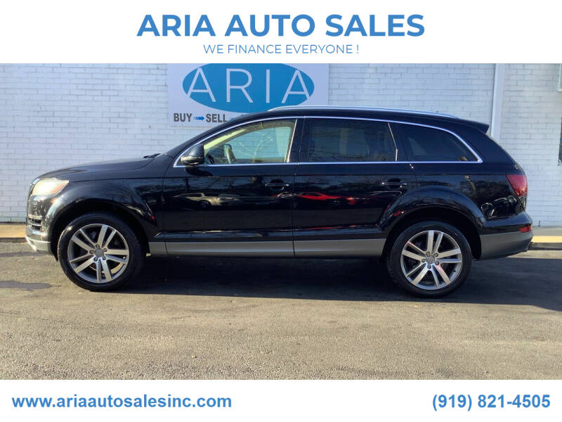2013 Audi Q7 for sale at ARIA  AUTO  SALES in Raleigh NC
