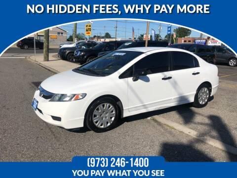2011 Honda Civic for sale at Route 46 Auto Sales Inc in Lodi NJ