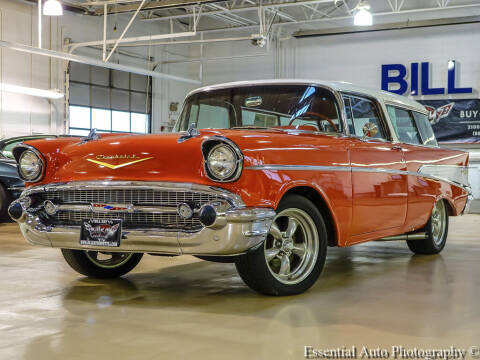 1957 Chevrolet Belair Nomad for sale at Bill Kay Corvette's and Classic's in Downers Grove IL