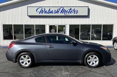 2009 Nissan Altima for sale at Wabash Motors in Terre Haute IN
