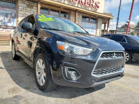 2015 Mitsubishi Outlander Sport for sale at USA Auto Brokers in Houston TX