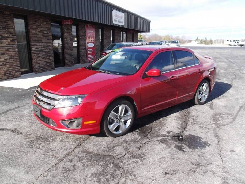 2011 Ford Fusion for sale at Dietsch Sales & Svc Inc in Edgerton OH