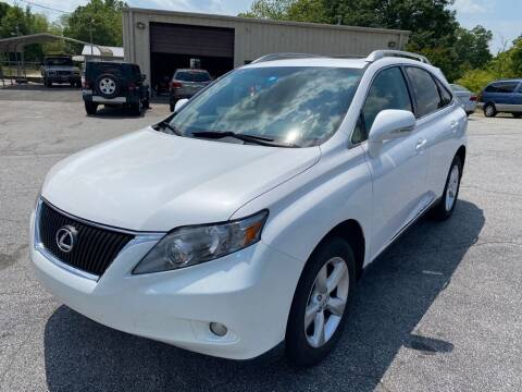 2010 Lexus RX 350 for sale at Brewster Used Cars in Anderson SC