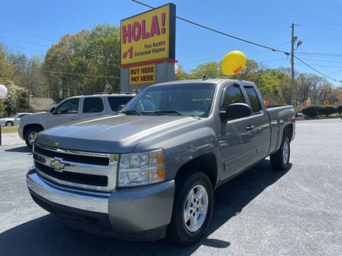 2008 Chevrolet Silverado 1500 for sale at No Full Coverage Auto Sales in Austell GA