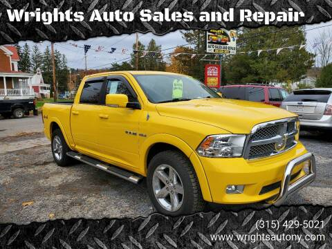2009 Dodge Ram Pickup 1500 for sale at Wrights Auto Sales and Repair in Dolgeville NY