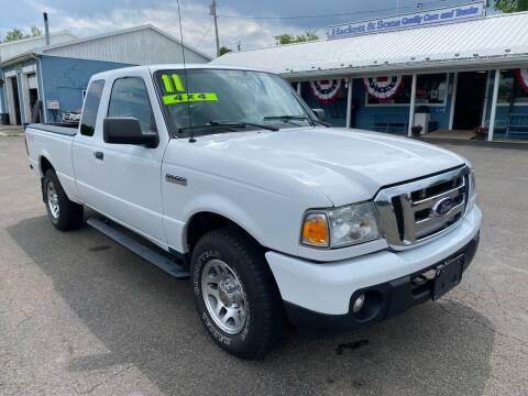 2011 Ford Ranger for sale at HACKETT & SONS LLC in Nelson PA