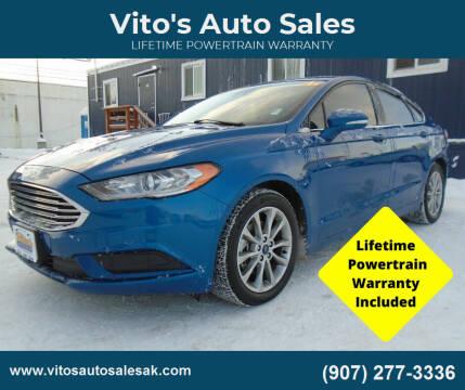 2017 Ford Fusion for sale at Vito's Auto Sales in Anchorage AK