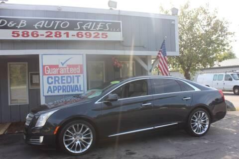 2013 Cadillac XTS for sale at D & B Auto Sales LLC in Washington MI