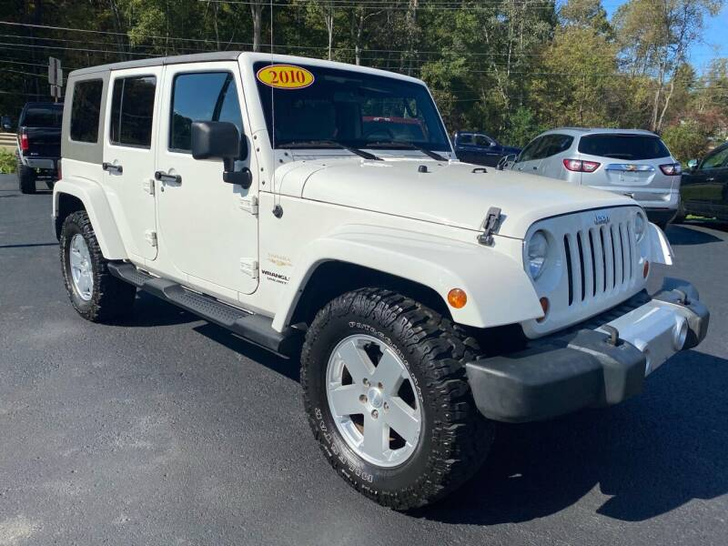 2010 Jeep Wrangler Unlimited for sale at Pine Grove Auto Sales LLC in Russell PA