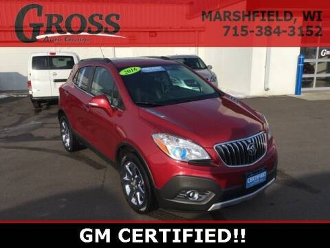 2016 Buick Encore for sale at Gross Motors of Marshfield in Marshfield WI