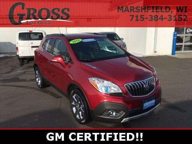 2016 Buick Encore for sale at Gross Motors of Marshfield in Marshfield WI