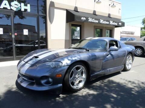 2000 Dodge Viper for sale at Wilson-Maturo Motors in New Haven CT