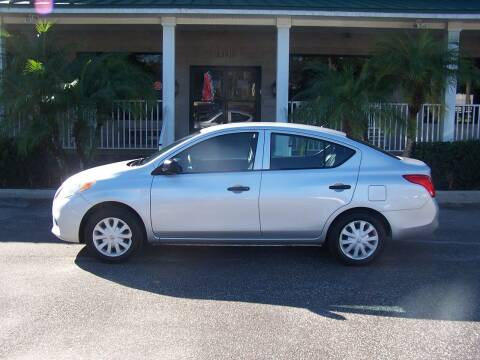 2013 Nissan Versa for sale at Thomas Auto Mart Inc in Dade City FL