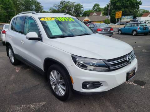 2013 Volkswagen Tiguan for sale at Costas Auto Gallery in Rahway NJ