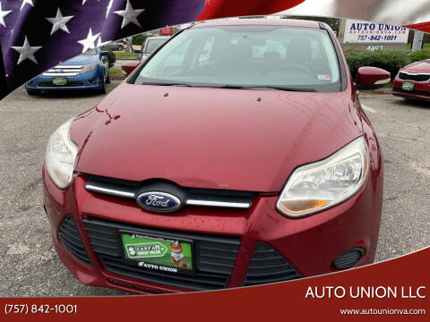 2014 Ford Focus for sale at Auto Union LLC in Virginia Beach VA