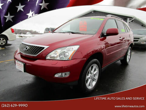 2009 Lexus RX 350 for sale at Lifetime Auto Sales and Service in West Bend WI