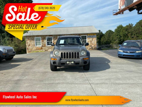 2003 Jeep Liberty for sale at Flywheel Auto Sales Inc in Woodstock GA