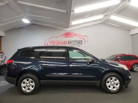2011 Chevrolet Traverse for sale at Premium Motors in Villa Park IL