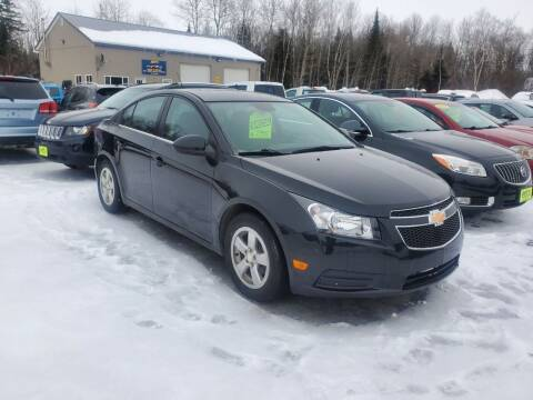 2014 Chevrolet Cruze for sale at Jeff's Sales & Service in Presque Isle ME