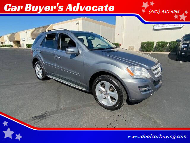 2011 Mercedes-Benz M-Class for sale at Car Buyer's Advocate in Phoenix AZ