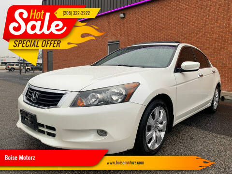 2008 Honda Accord for sale at Boise Motorz in Boise ID