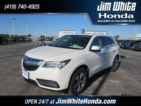 2016 Acura MDX for sale at The Credit Miracle Network Team at Jim White Honda in Maumee OH