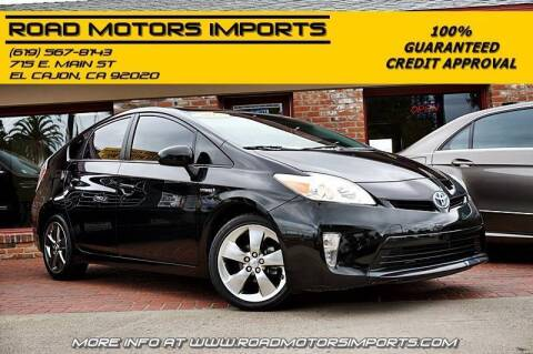 2013 Toyota Prius for sale at Road Motors Imports in El Cajon CA