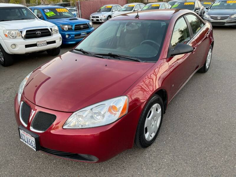2008 Pontiac G6 for sale at C. H. Auto Sales in Citrus Heights CA