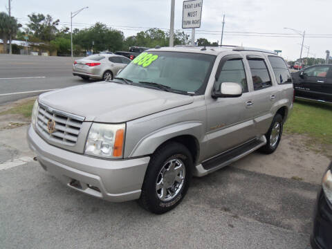 2004 Cadillac Escalade for sale at ORANGE PARK AUTO in Jacksonville FL