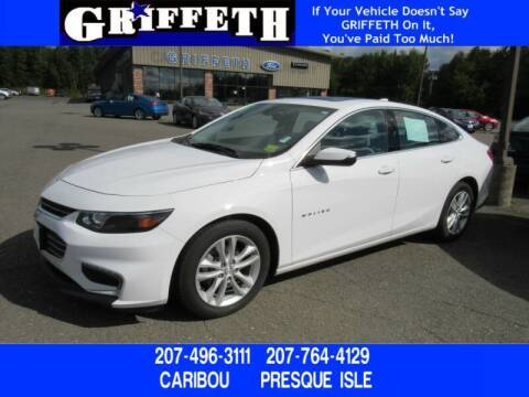 2018 Chevrolet Malibu for sale at Griffeth Mitsubishi - Pre-owned in Caribou ME