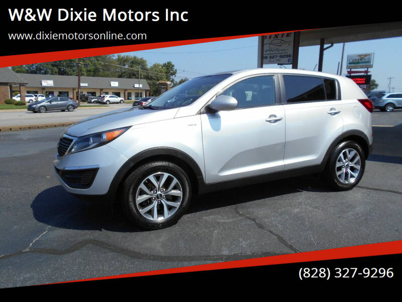 2016 Kia Sportage for sale at W&W Dixie Motors Inc in Hickory NC