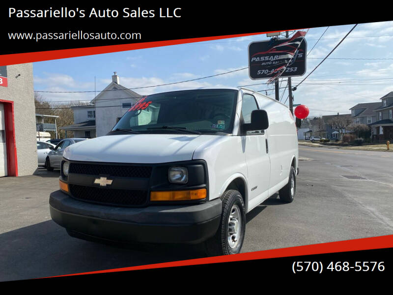 2006 Chevrolet Express Cargo for sale at Passariello's Auto Sales LLC in Old Forge PA
