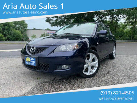 2009 Mazda MAZDA3 for sale at ARIA  AUTO  SALES in Raleigh NC