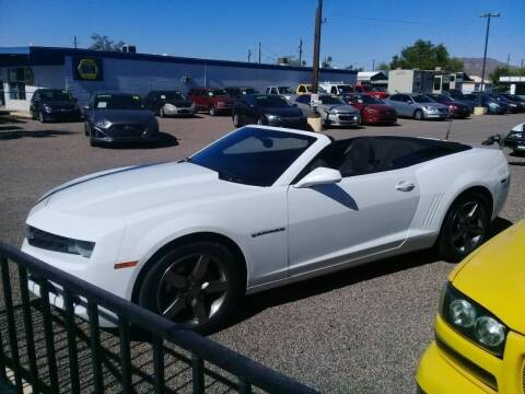 2011 Chevrolet Camaro for sale at 1ST AUTO & MARINE in Apache Junction AZ