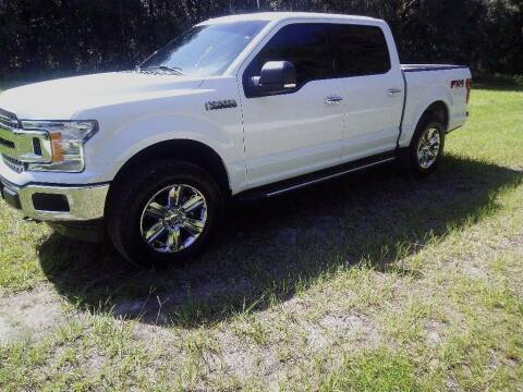 2018 Ford F-150 for sale at TIMBERLAND FORD in Perry FL