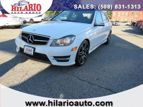 2013 Mercedes-Benz C-Class for sale at Hilario's Auto Sales in Worcester MA