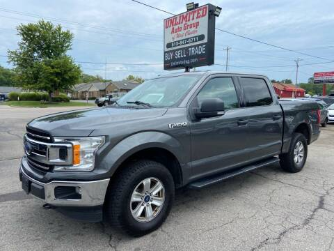 2018 Ford F-150 for sale at Unlimited Auto Group in West Chester OH