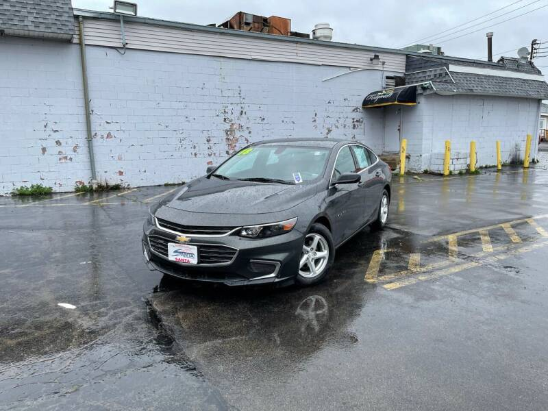 2018 Chevrolet Malibu for sale at Santa Motors Inc in Rochester NY