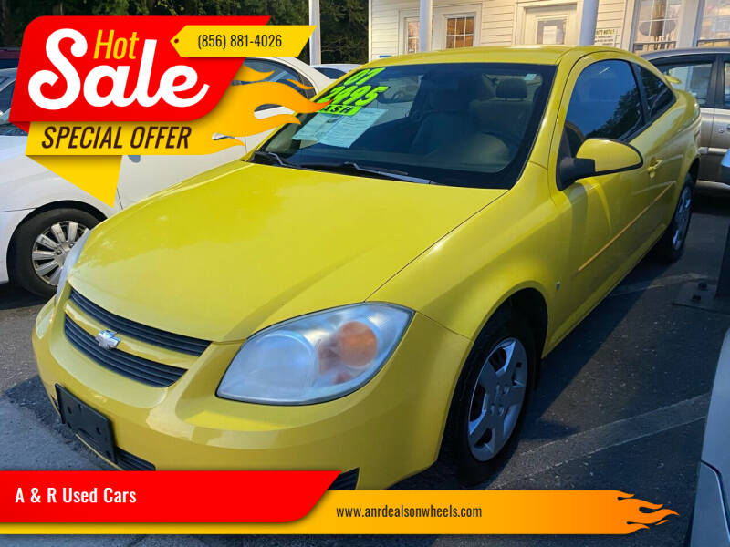 2007 Chevrolet Cobalt for sale at A & R Used Cars in Clayton NJ