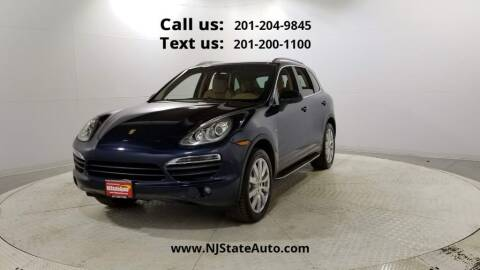 2013 Porsche Cayenne for sale at NJ State Auto Used Cars in Jersey City NJ