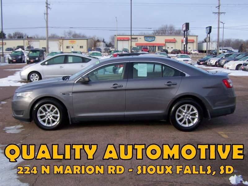 2013 Ford Taurus for sale at Quality Automotive in Sioux Falls SD